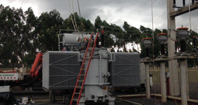 CERTAJA realiza manutenção na Subestação Vendinha