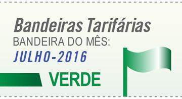 Bandeira verde em julho