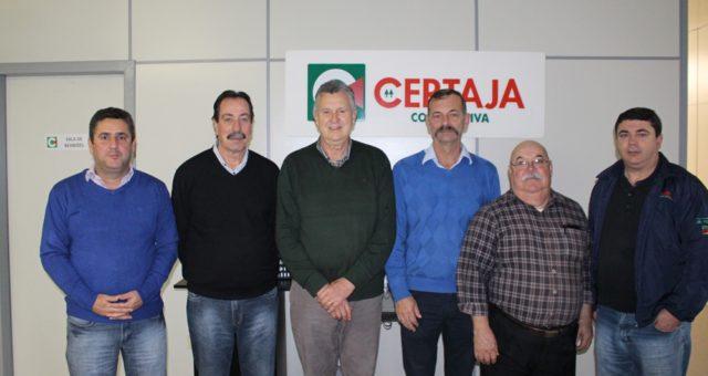 Deputado Federal Luis Carlos Heinze visita a CERTAJA