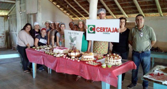 CERTAJA apoia curso de Tortas e docinhos caseiros em General Neto, Triunfo