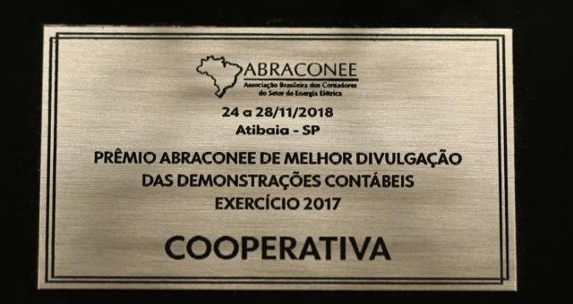 CERTAJA Energia recebe prêmio de 1º lugar em Melhores Demonstrações Contábeis a nível nacional