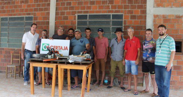 CERTAJA apoia curso de Motoserra em Paverama