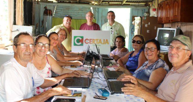 CERTAJA apoia curso de Inclusão Digital em Tabaí