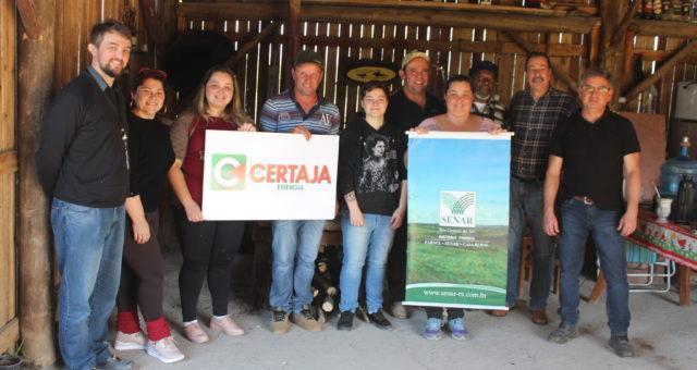 CERTAJA apoia curso de Eletricista Rural