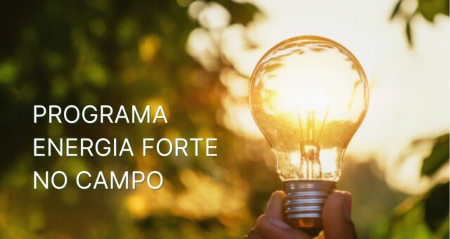 Programa Energia Forte no Campo