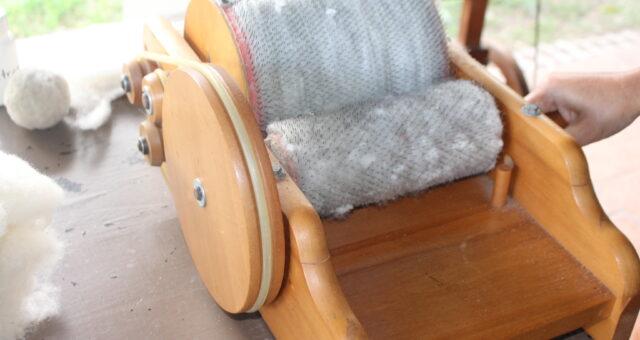 Cooperados em curso de Tecelagem de lã