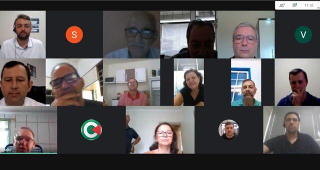 Reunião virtual do Conselho de Administração