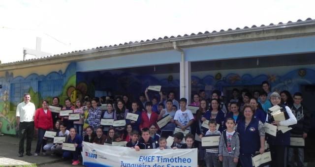 Sementes do cooperativismo na Escola Timótheo Junqueira dos Santos