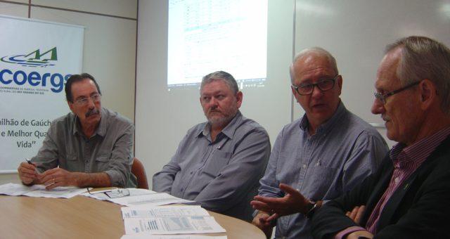 Renato Martins na diretoria da FECOERGS