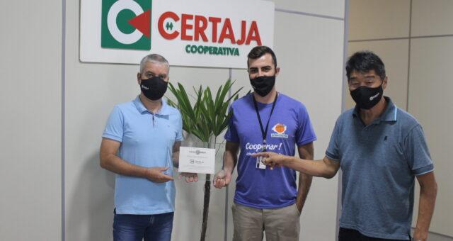 """CERTAJA premiada como """"Empresa mais engajada no RS"""" pela Leal"""