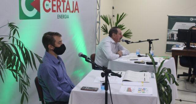 CERTAJA Energia realiza assembleia geral ordinária no formato digital