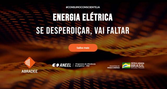 """""""ENERGIA ELÉTRICA: SE DESPERDIÇAR, VAI FALTAR"""""""